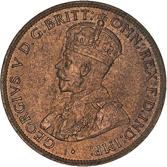 Australia ½ Penny (1911-1936 George V)