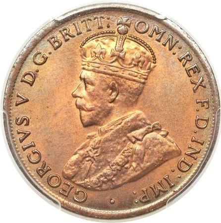 Australia 1 Penny (1911-1936 George V)