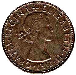 Australia 1 Penny (1938-1948 George VI)