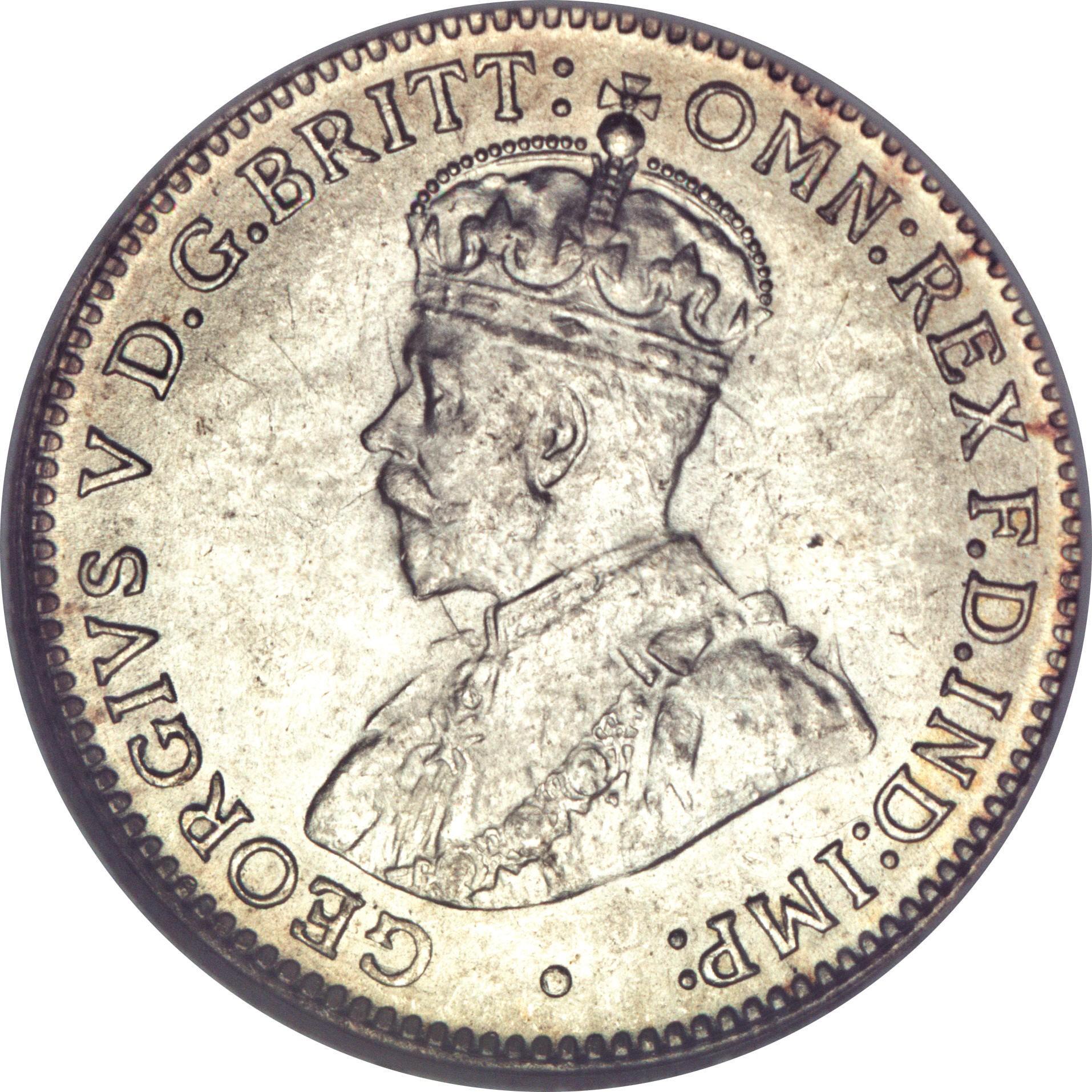 Australia 3 Pence (1911-1936 George V)