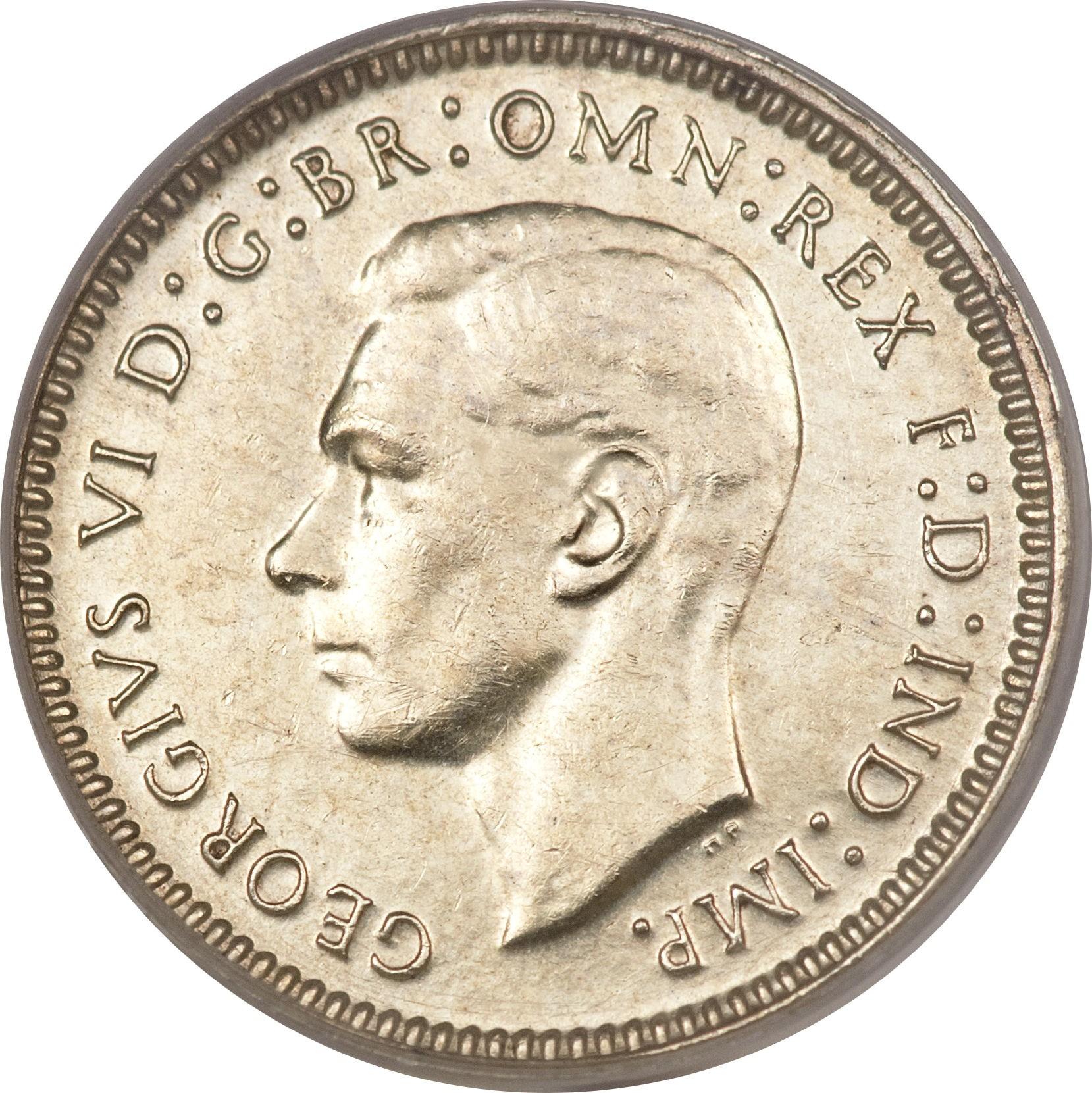 Australia 3 Pence (1938-1944 George VI)