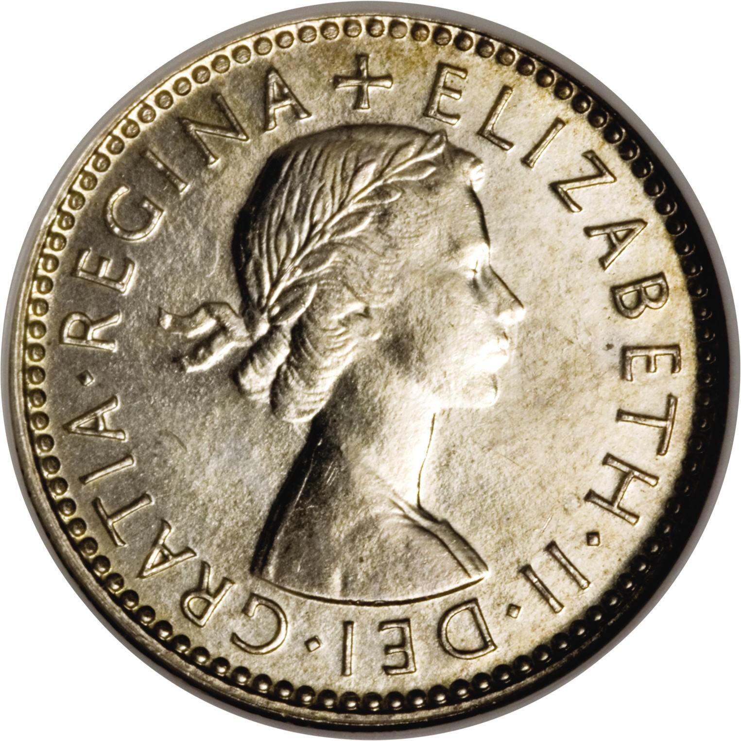 Australia 6 Pence (1953-1954 Elizabeth II )
