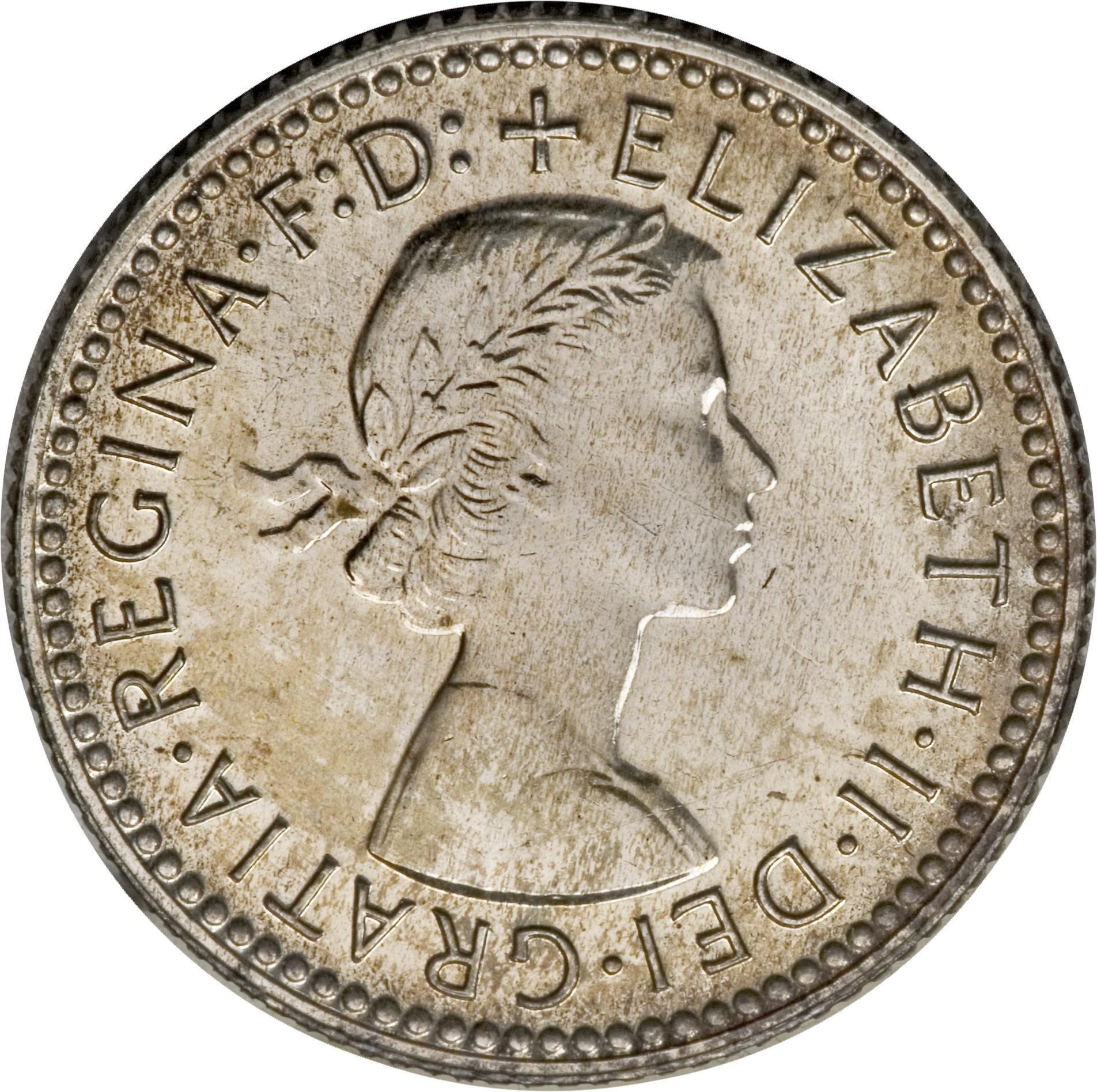 Australia 6 Pence (1955-1963 Elizabeth II)
