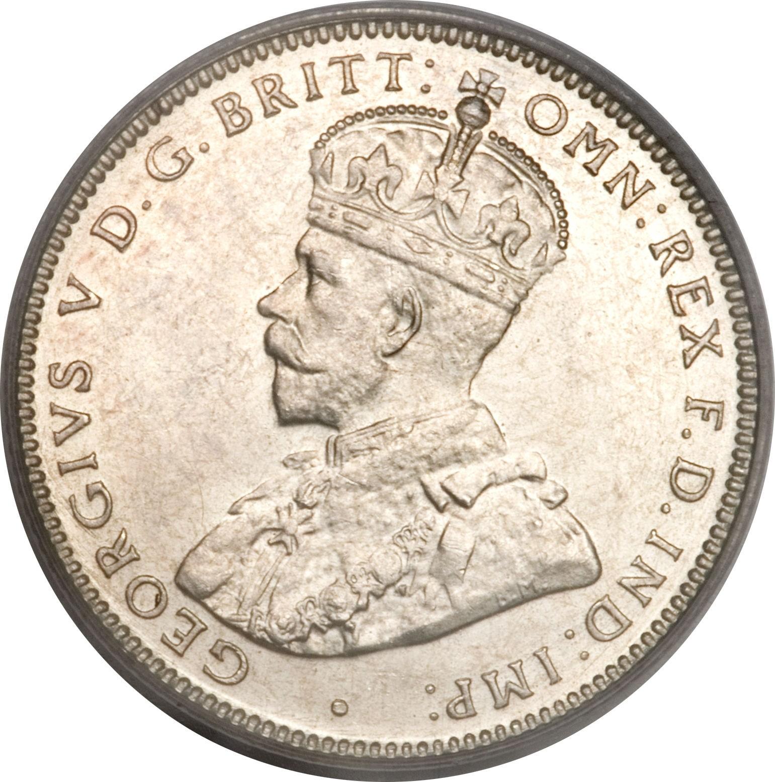Australia 1 Shilling (1911-1936 George V)
