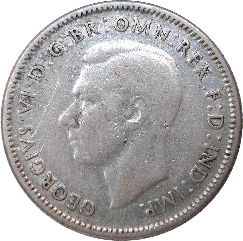 Australia 1 Shilling (1946-1948 George VI)