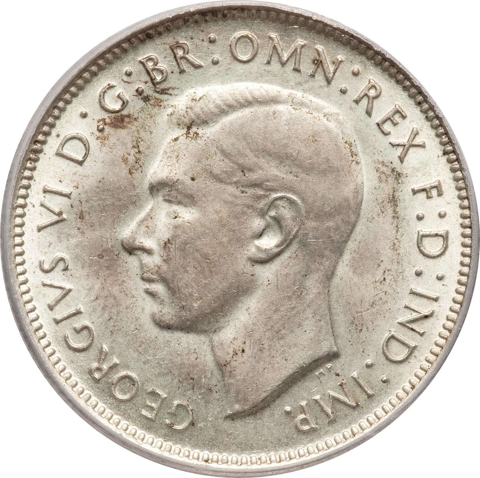 Australia 1 Florin (1938-1945 George VI)