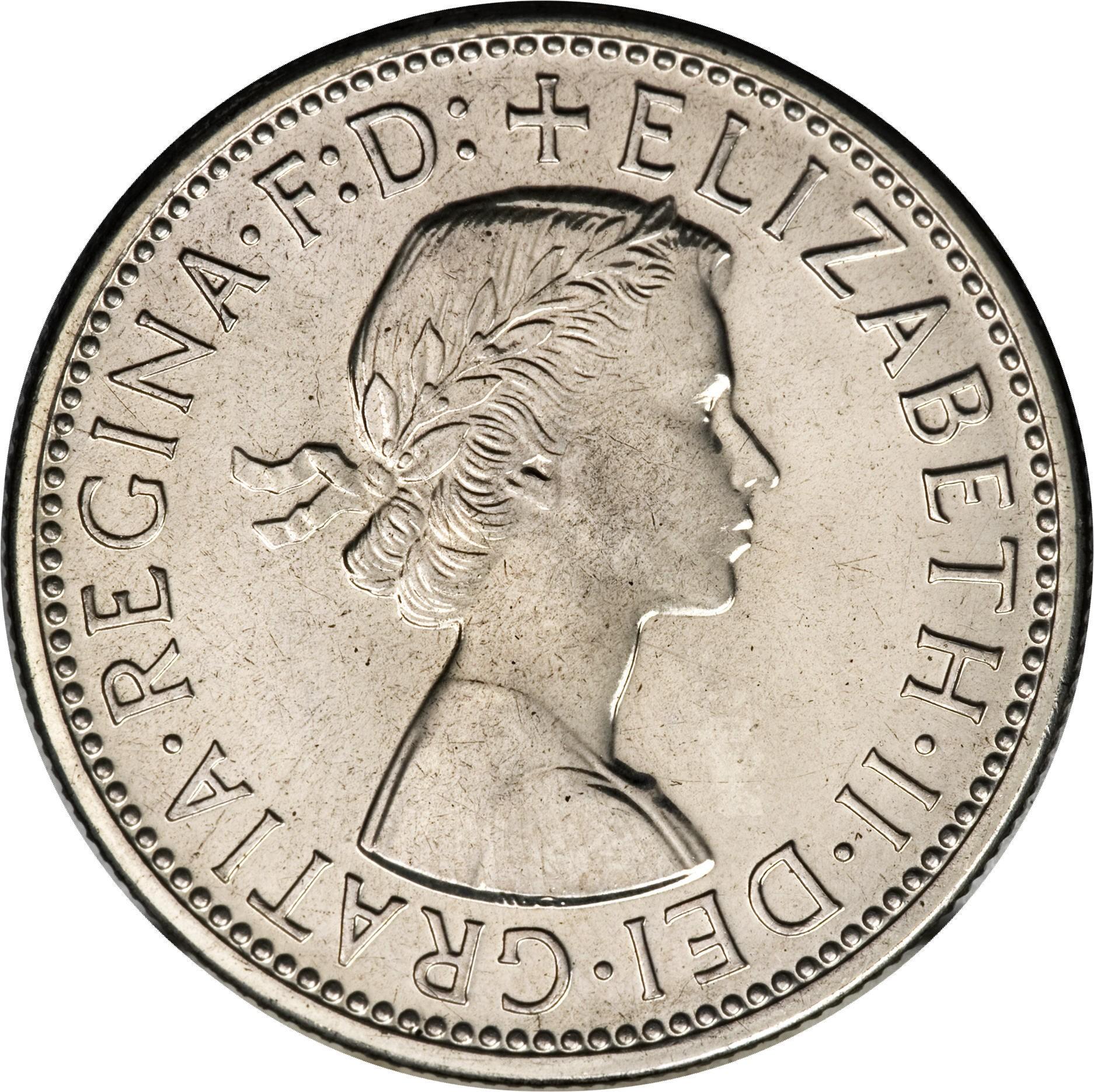 Australia 1 Florin (1956-1963 Elizabeth II)