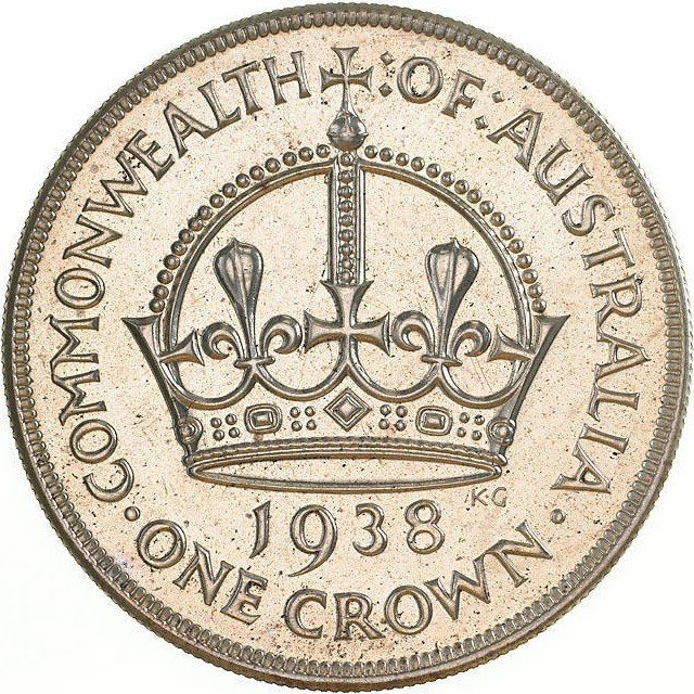 Australia 1 Crown (1937-1938 George VI Coronation)
