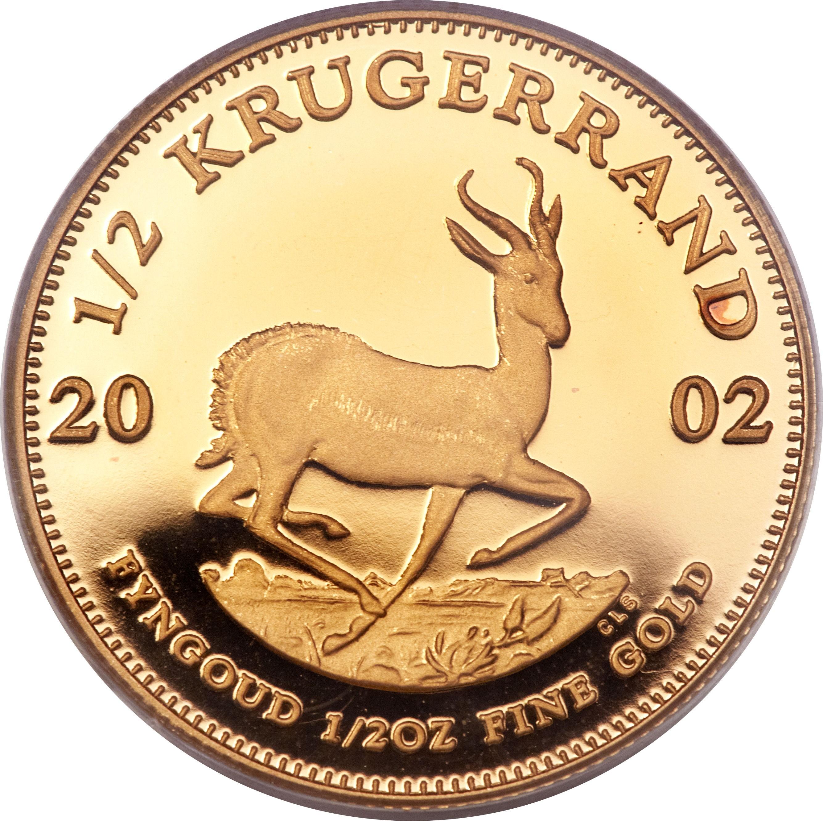 South Africa ½ Ounce Krugerrand (1980-2016)
