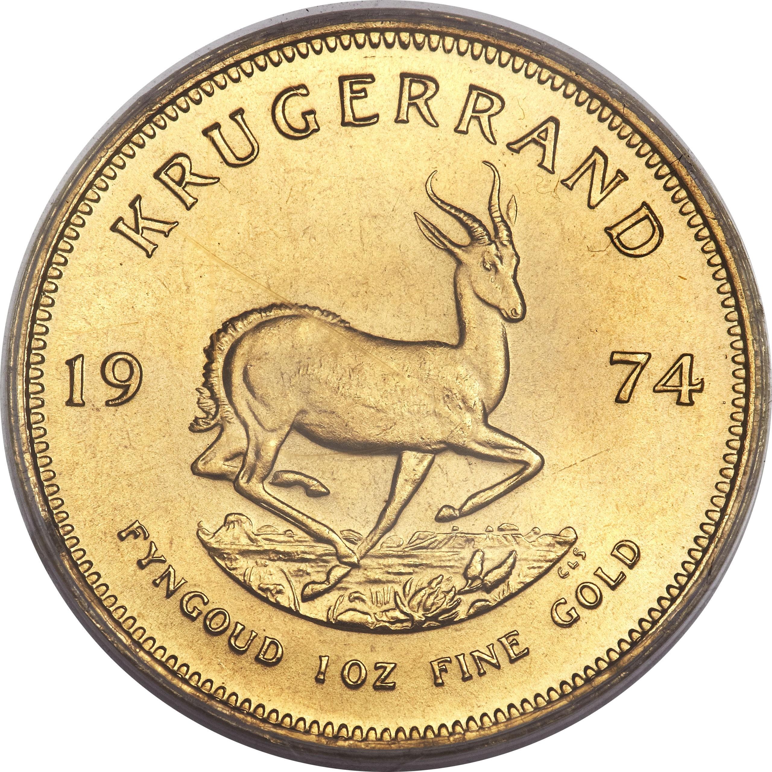 South Africa 1 Ounce Krugerrand (1967-2018)