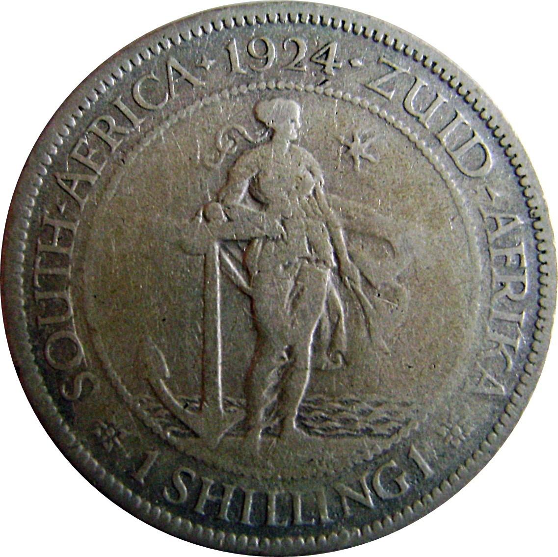 South Africa 1 Shilling (1923-1924 George V)