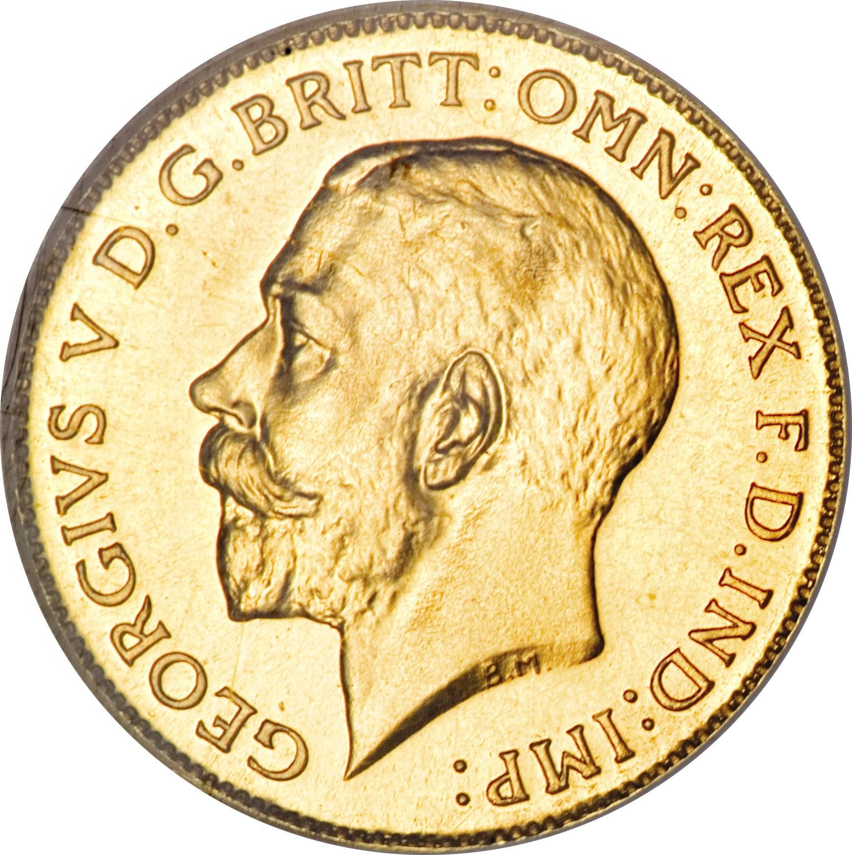 South Africa ½ Sovereign (1923-1926 George V)