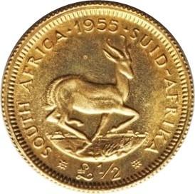 South Africa ½ Pound (1953-1960 Elizabeth II)