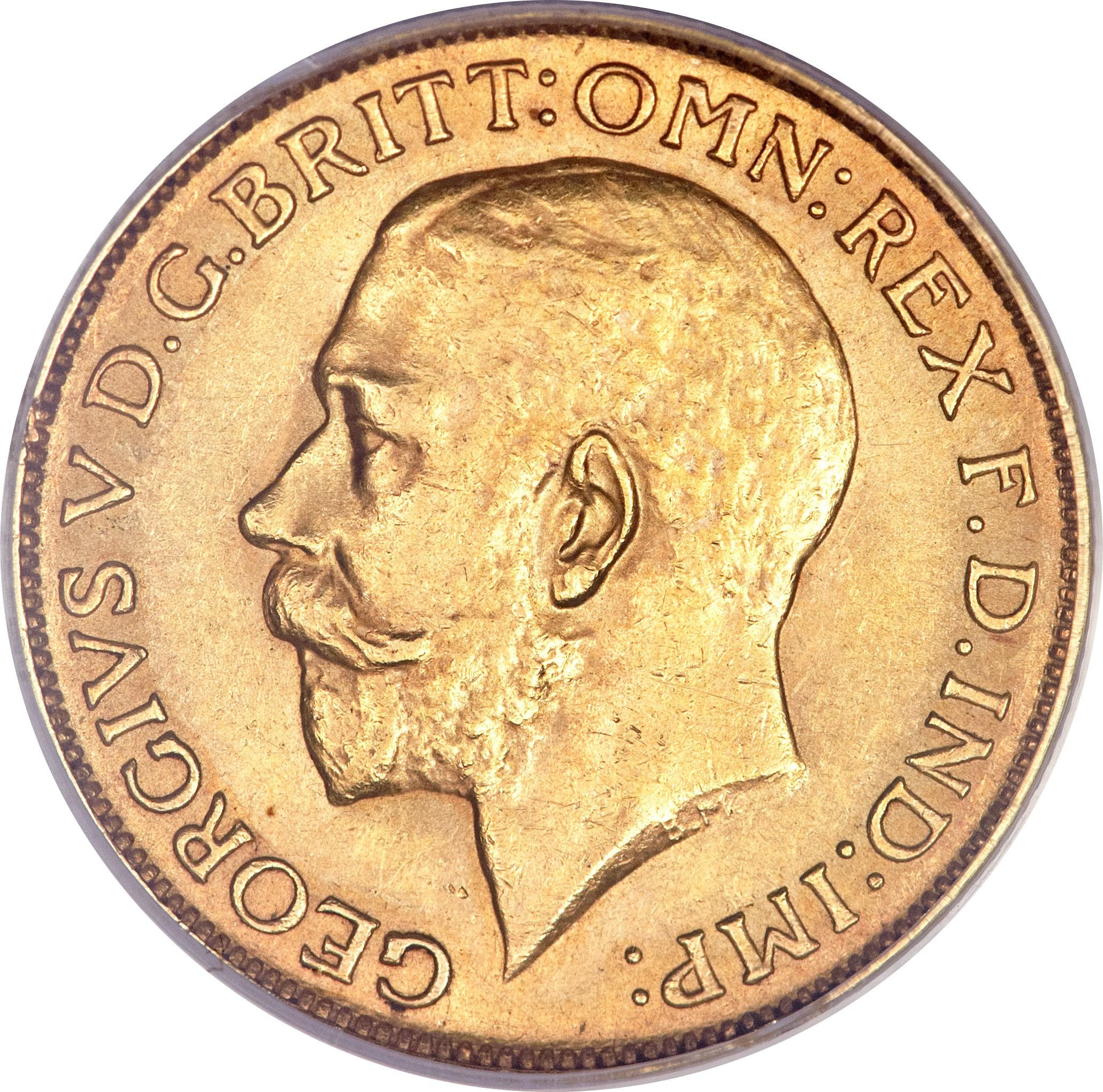 South Africa 1 Sovereign (1923-1928 George V)
