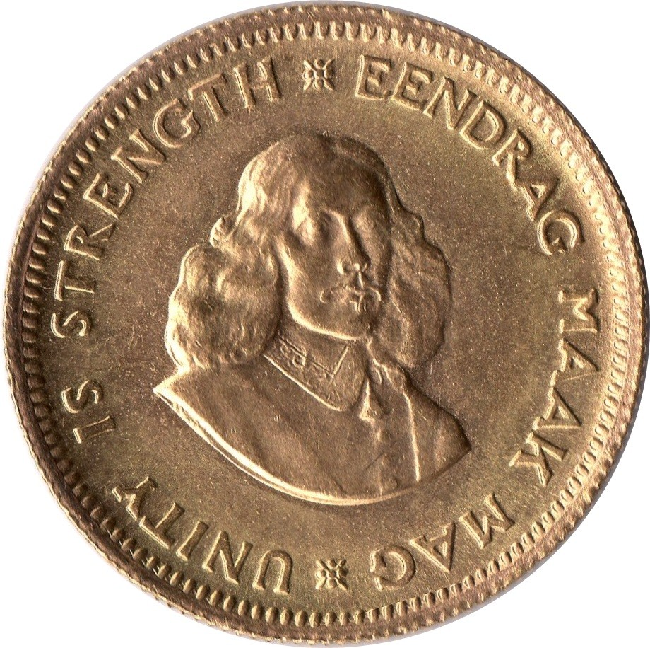 South Africa 1 Rand Gold (1961-1983)