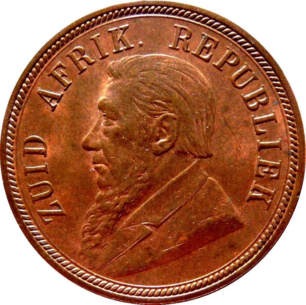 South Africa 1 Penny (1892-1898 Zuid Afrikaansche Republiek)