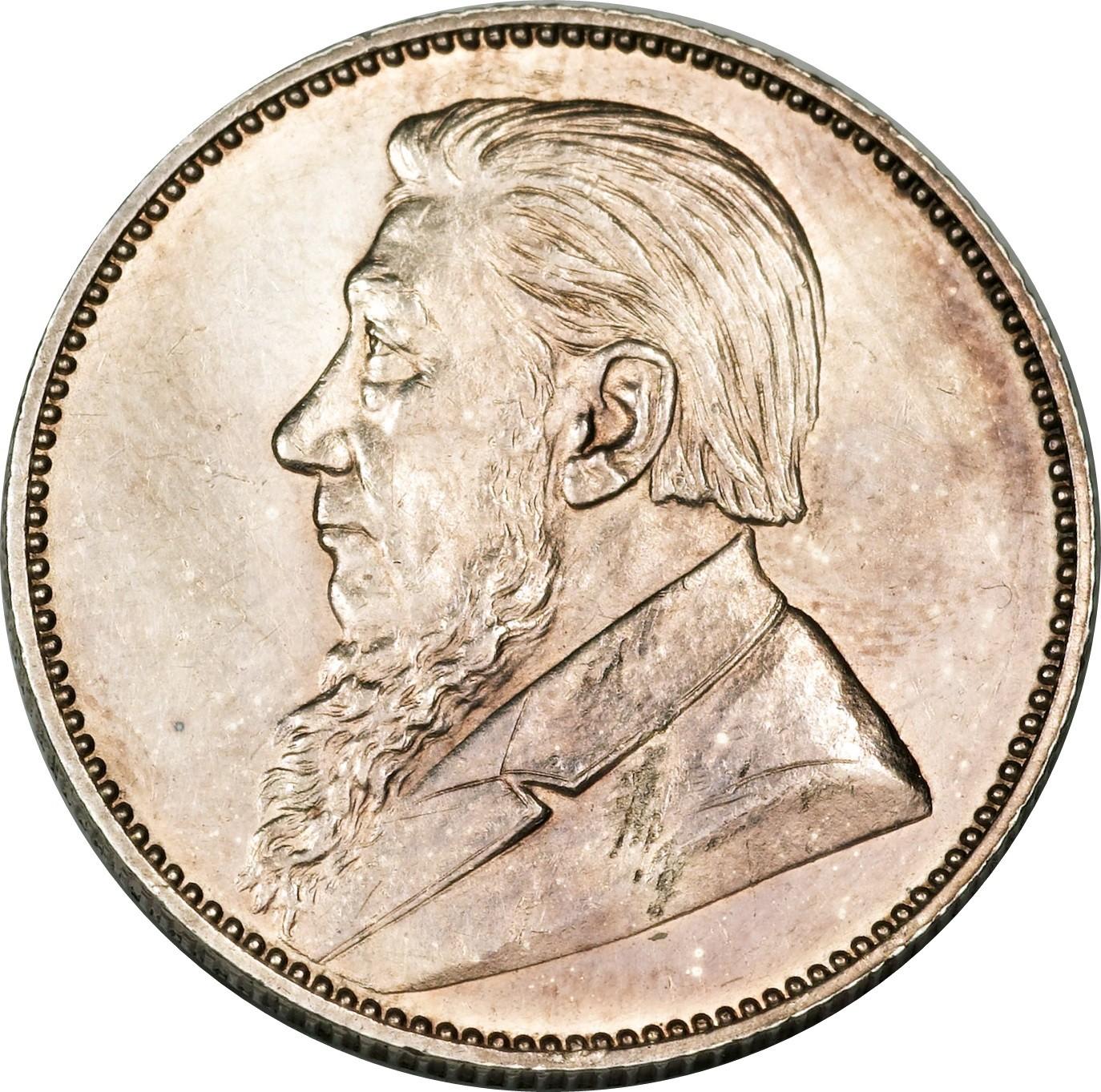 South Africa 1 Shilling (1892-1897 Zuid Afrikaansche Republiek)