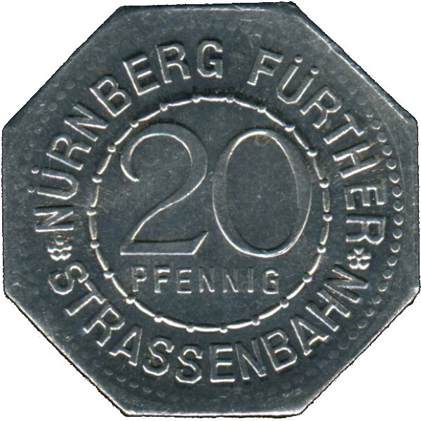 Germany 20 Pfennig (The Germanisches Nationalmuseum-Fürther)