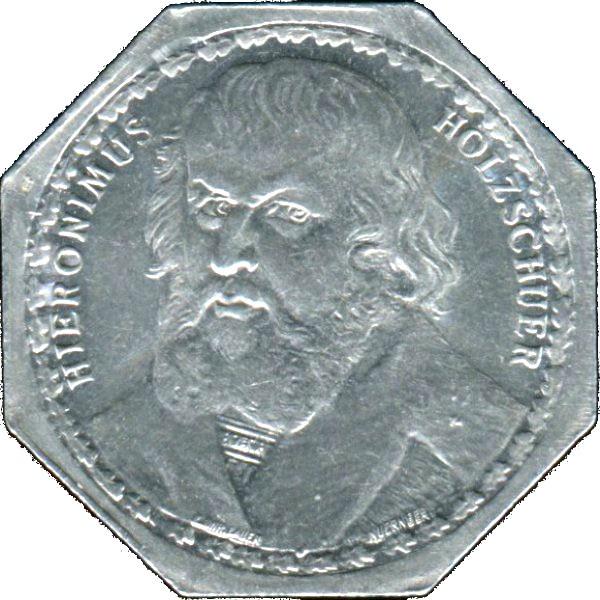 Germany 20 Pfennig (Hieronymus Holzschuher-Nürnberg-Fürther)