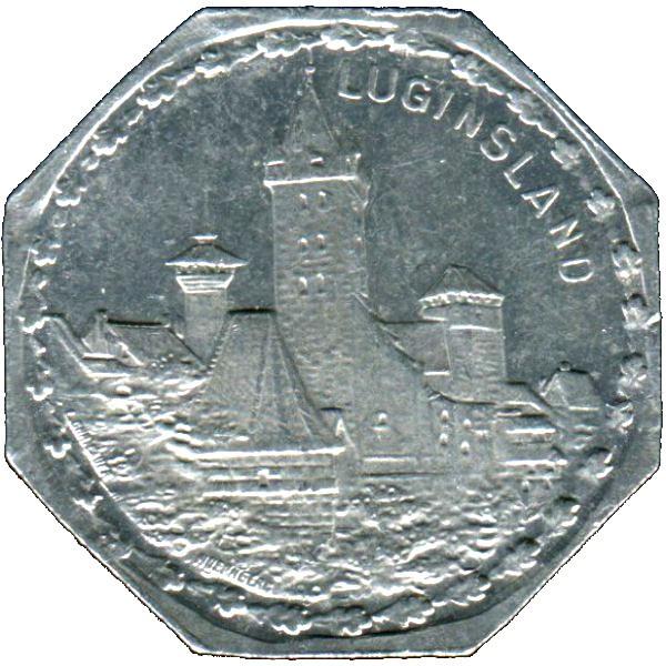 Germany 20 Pfennig (Luginsland-Nürnberg-Fürther)