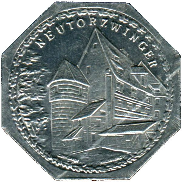 Germany 20 Pfennig (The New Gate tower/kennel-Nürnberg-Fürther)