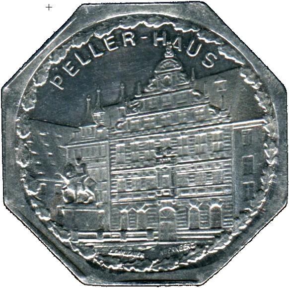 Germany 20 Pfennig (The Peller House-Nürnberg-Fürther)