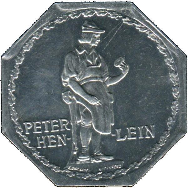 Germany 20 Pfennig (Peter Henlein-Nürnberg-Fürther)