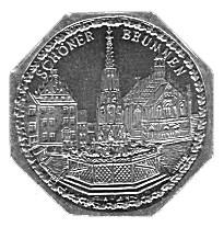 Germany 20 Pfennig (Beautiful Fountain-Nürnberg-Fürther)