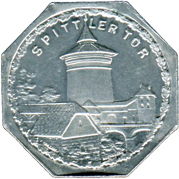 Germany 20 Pfennig (The Spittler Gate-Nürnberg-Fürther)
