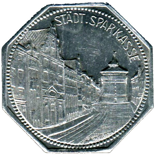 Germany 20 Pfennig (Nürnberg City Savings Bank-Nürnberg-Fürther)