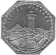 Germany 20 Pfennig (The Deep Well of the Nürnberg Castle-Nürnberg-Fürther)