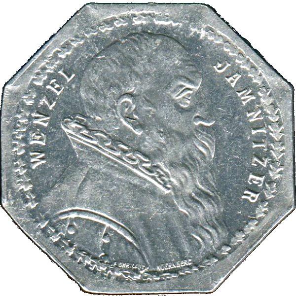 Germany 20 Pfennig (Wenzel Jamnitzer-Nürnberg-Fürther)