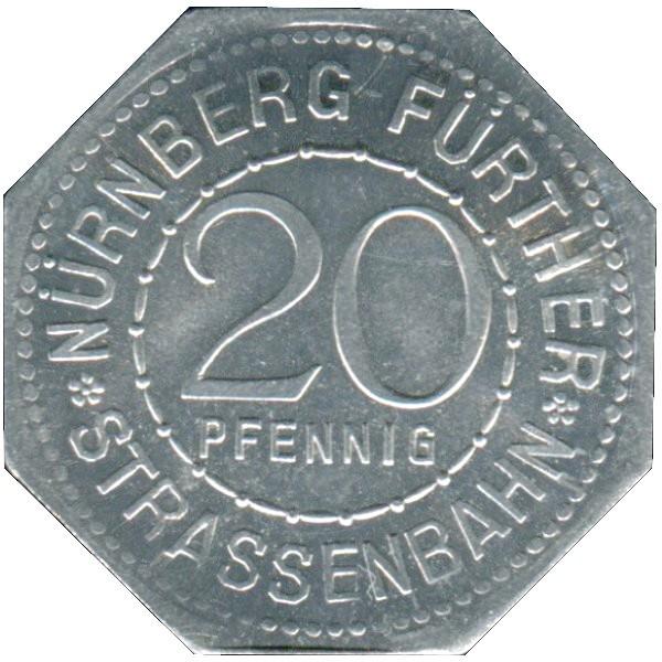 Germany 20 Pfennig (The Wine Store-Nürnberg-Fürther)