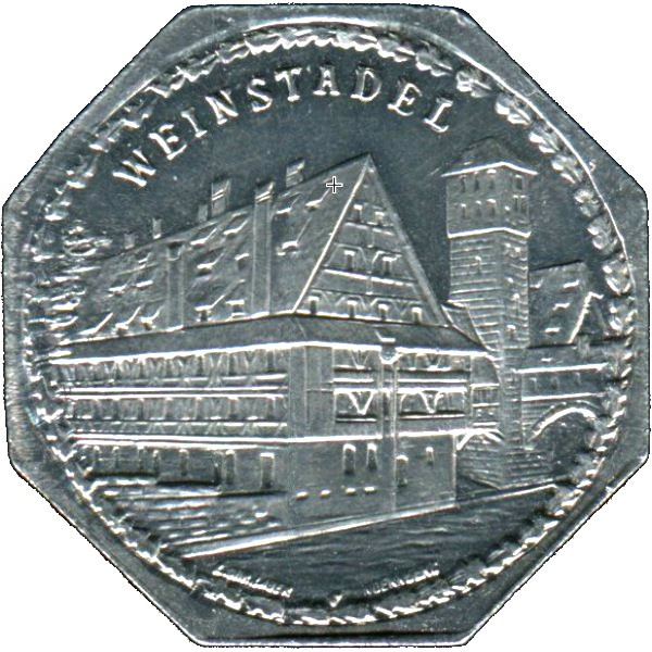 Germany 20 Pfennig (The Wine Store-Nürnberg-Fürther)