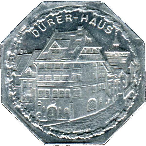 Germany 20 Pfennig (The home of German Renaissance Artist Albrecht Dürer-Nürnberg-Fürther)