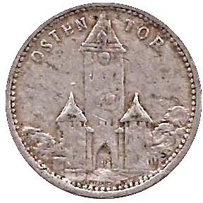 Germany 50 Pfennig (1922 Osten Tor-Regensburg)
