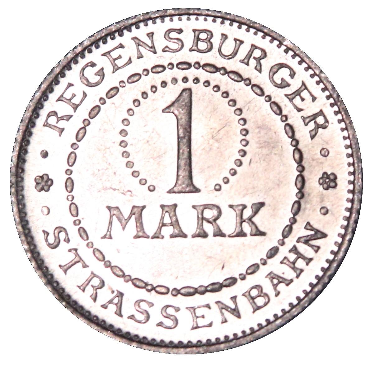 Germany 1 Mark (Regensburg)