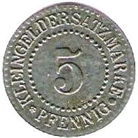 Germany 5 Pfennig  (Lüneburg)