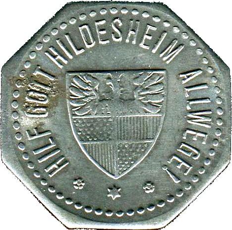 Germany 5 Pfennig  (1918 Hildesheim)