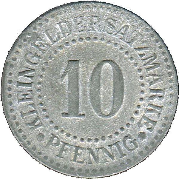 Germany 10 Pfennig  (Lüneburg)