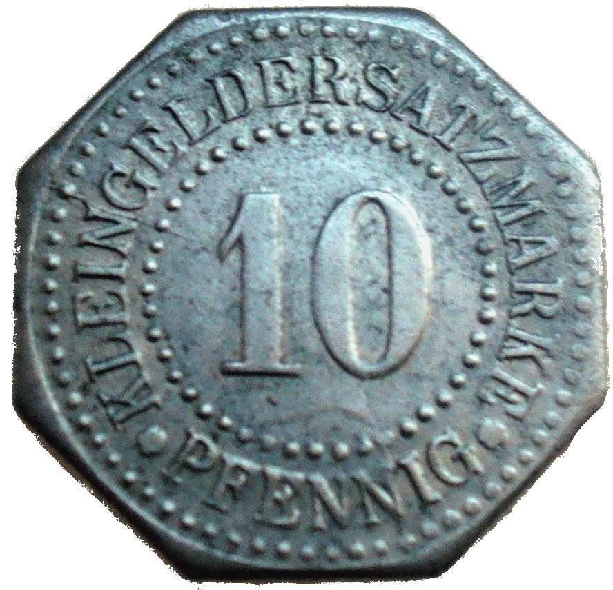 Germany 10 Pfennig  (Lüneburg-2)