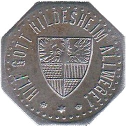 Germany 10 Pfennig  (1918 Hildesheim)