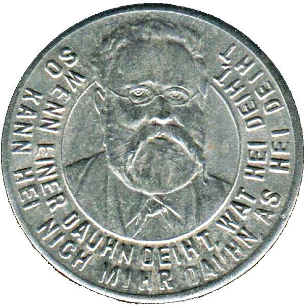 Germany 10 Pfennig  (Stavenhagen -Mecklenburg-Schwerin)