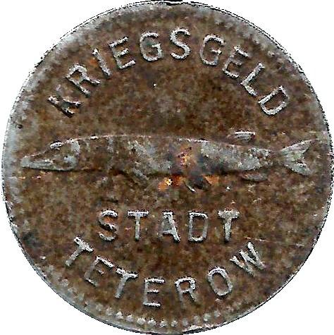 Germany 10 Pfennig  (Teterow-Mecklenburg-Schwerin)