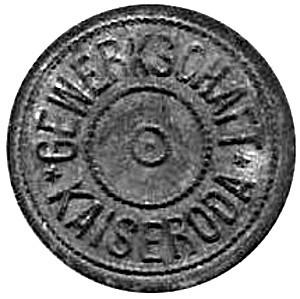 Germany 10 Pfennig  (Sachsen/Weimer/Eisenach)