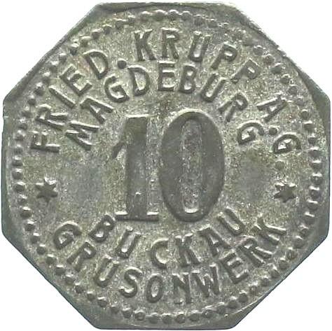 Germany 10 Pfennig  (Magdeburg-Buckau)