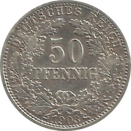 Germany 50 Pfennig  (1896-1903 Wilhelm II)