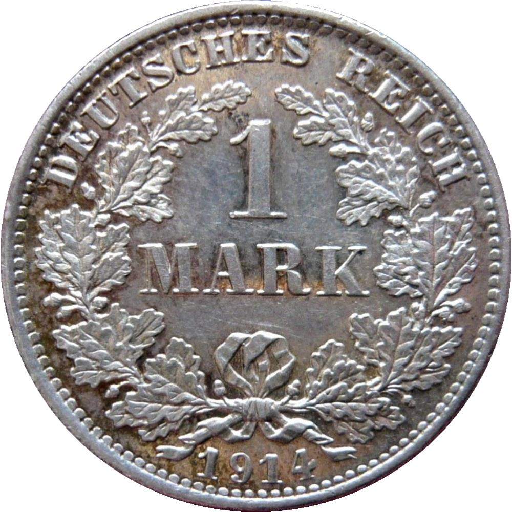 Germany 1 Mark  (1891-1916 Wilhelm II)