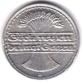 Germany 50 Pfennig  (1919-1922)