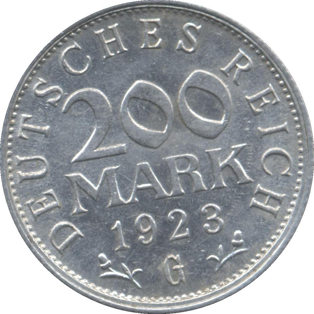 Germany 200 Mark  (1923)